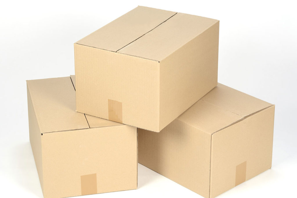Kartony, pudełka